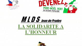 Les jeunes de la MLDS de Castelsarrasin ont besoin de vous pour aider le Père Noël du Secours Populaire
